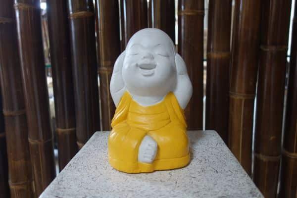Buddha nichts hören, sehen, sagen Shaolin Mönche Frostfest