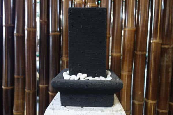 Buddha Lava Stein Wasserbrunnen Zimmerbrunnen Feng Shui Tischbrunnen