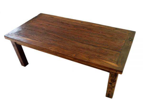 Teak Holz Bootsholz Couchtisch Wohnzimmer Tisch G050
